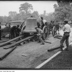 Unloading A Bell On 14 September 1927