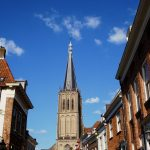 Doesburg. The Tower Of St. Martin's Church, Rebuilt After 1945