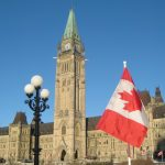 Peace Tower Flag Day [photo Andrea McCrady]
