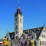 The City Hall And The Belfry Of Dendermonde