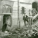 Belgian Soldiers And A Broken Bell, Shortly After The Bombardment Of 1914
