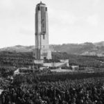 Dedication Of The Carillon On Anzac Day (25 April) 1932 With 60,000 In Attendance