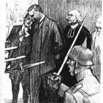 The Execution Of The Mayor Of Aarschot And His Son, 20 August 1914 (drawing By Louis Raemaekers)