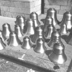 The 23 Bells Of The Forestrike Before Installation In 1985
