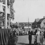 Queen Juliana And Princess Beatrix Admire The Bells (Asten, 16 June 1951)